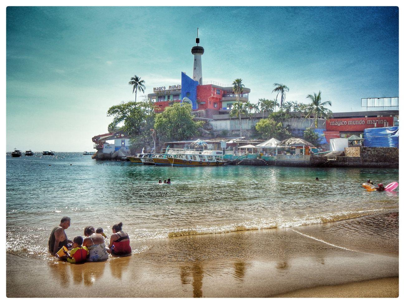 El Acapulco viejo. Acapulco Caleta