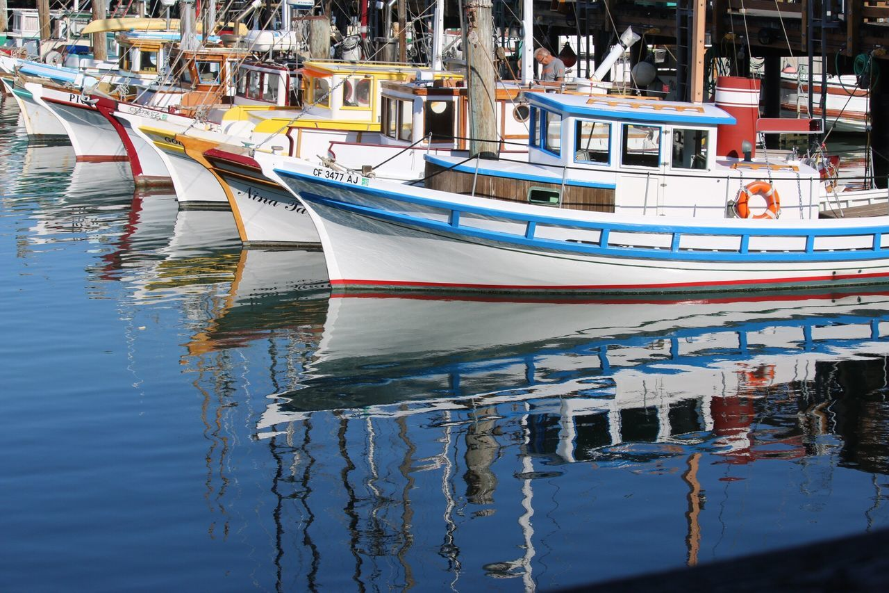 Nautical Vessel Reflection Water Moored Transportation Architecture Mode Of Transport Building Exterior Outdoors Day No People