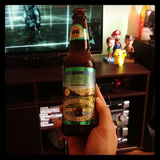 Cerveja do dia: Boont ESB (Extra Special Beer) - Anderson Valley Brewing Company Beer Sunday BOONVILLEBEER ASSASINSCREED2 XBOX360