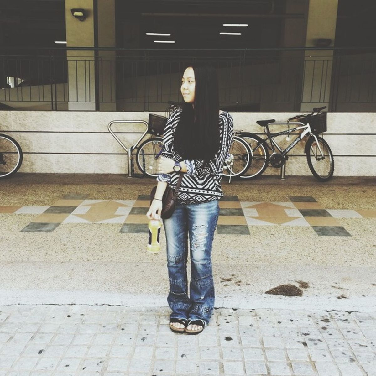 Ootd Bootcut Jeans Potrait First Eyeem Photo