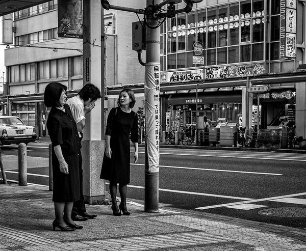 Achoo...Ewh Japan Japanese  ASIA Blackandwhite Streetphotography Streetphoto_bw Streetfashion People City FujiX100T