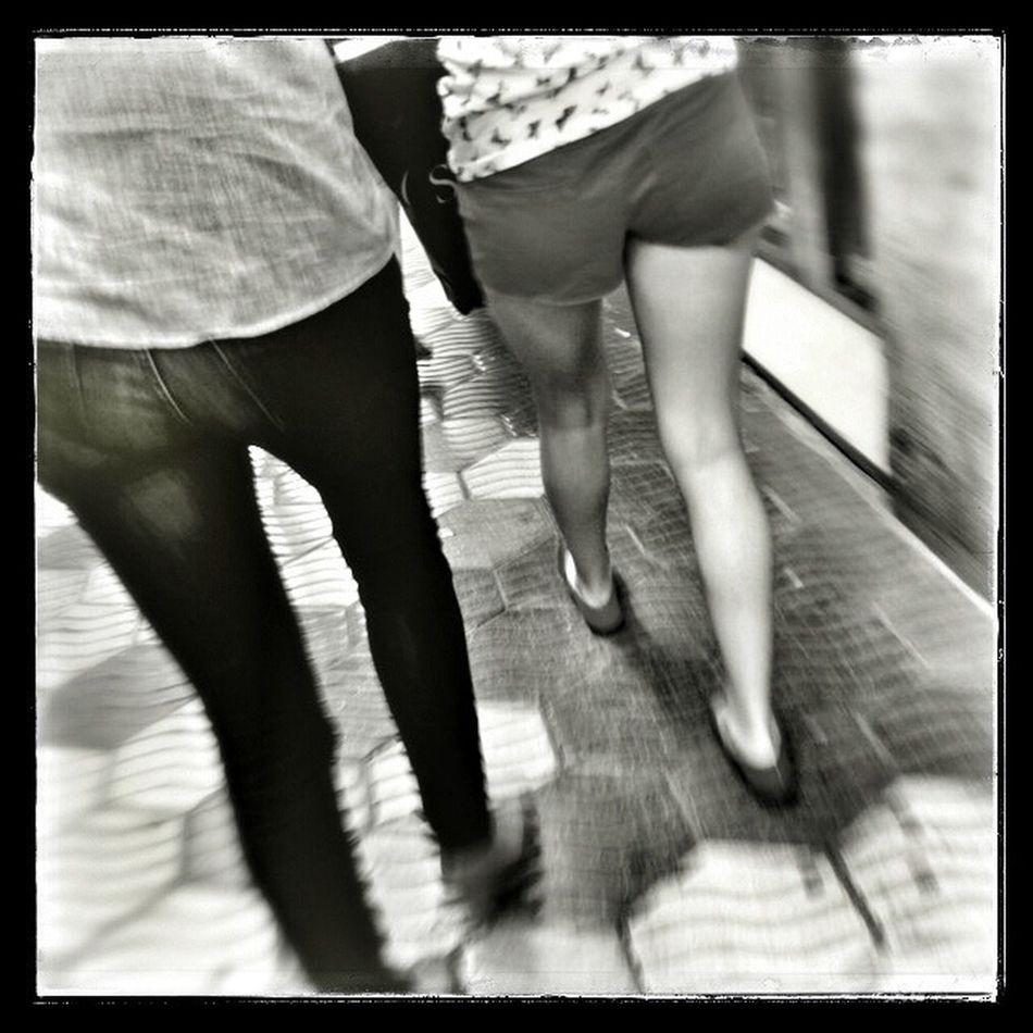 Blackandwhite Streetphotography Hipstamatic Legs