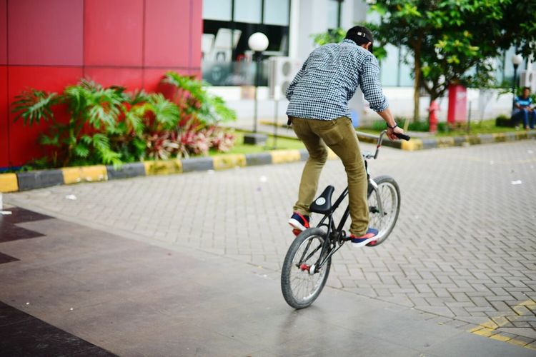 Puma. Adapted To The City City Cycling Healthy Lifestyle Transportation People Men Headwear Forever Faster