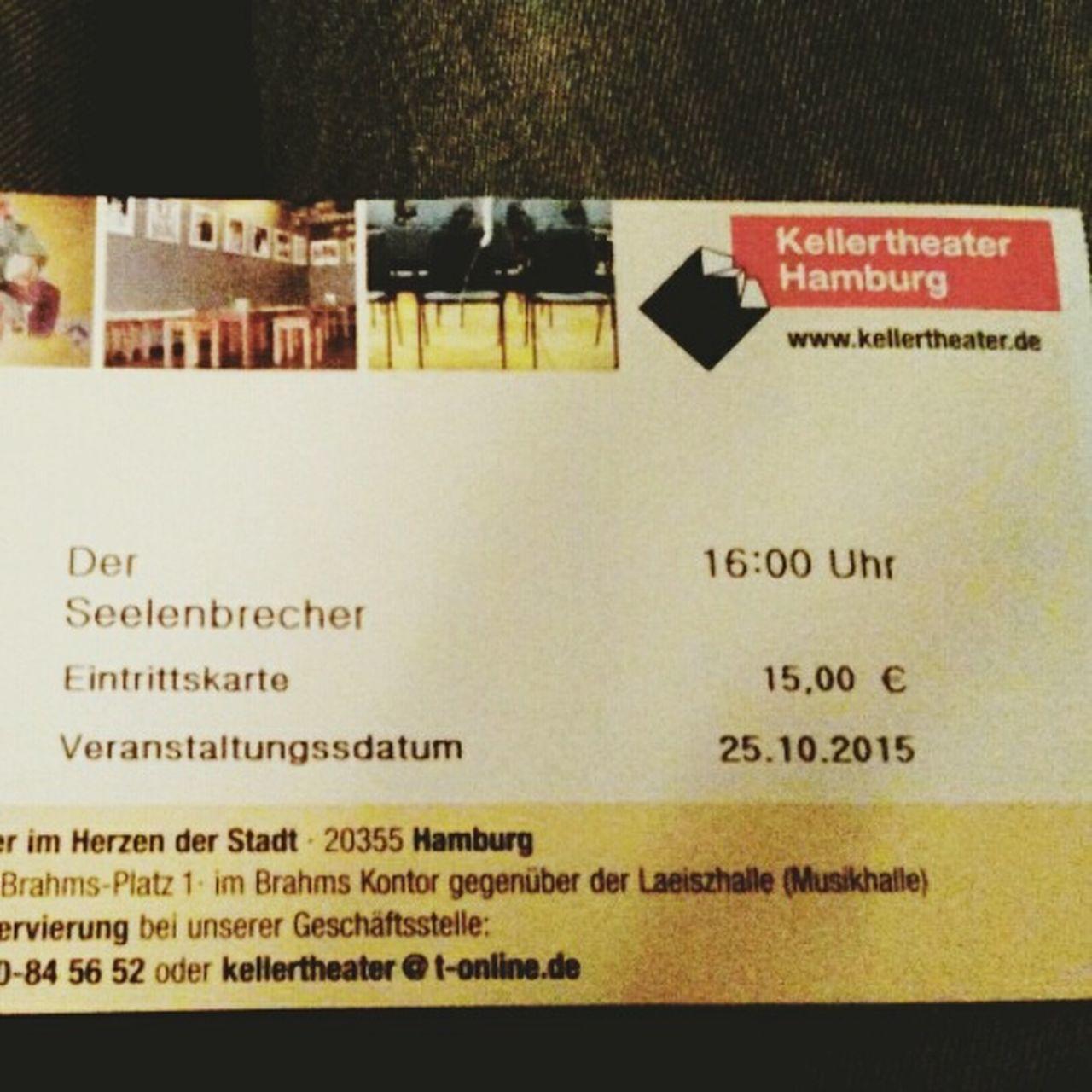 Very fantastic Theatre Arts Schauspiel Sebastian Fitzek Hamburg