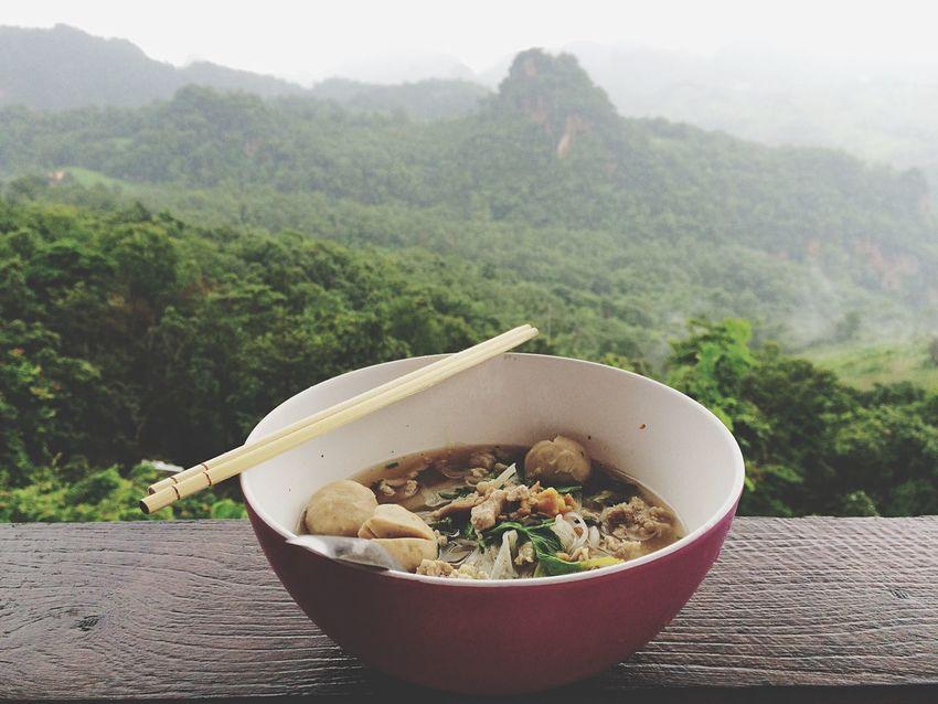 My2016 My Travel  Green Season Enjoying Life My Style Rainy Days Life Is A Journey Maehongsontrip Noodle Mountain Trip Good Moment
