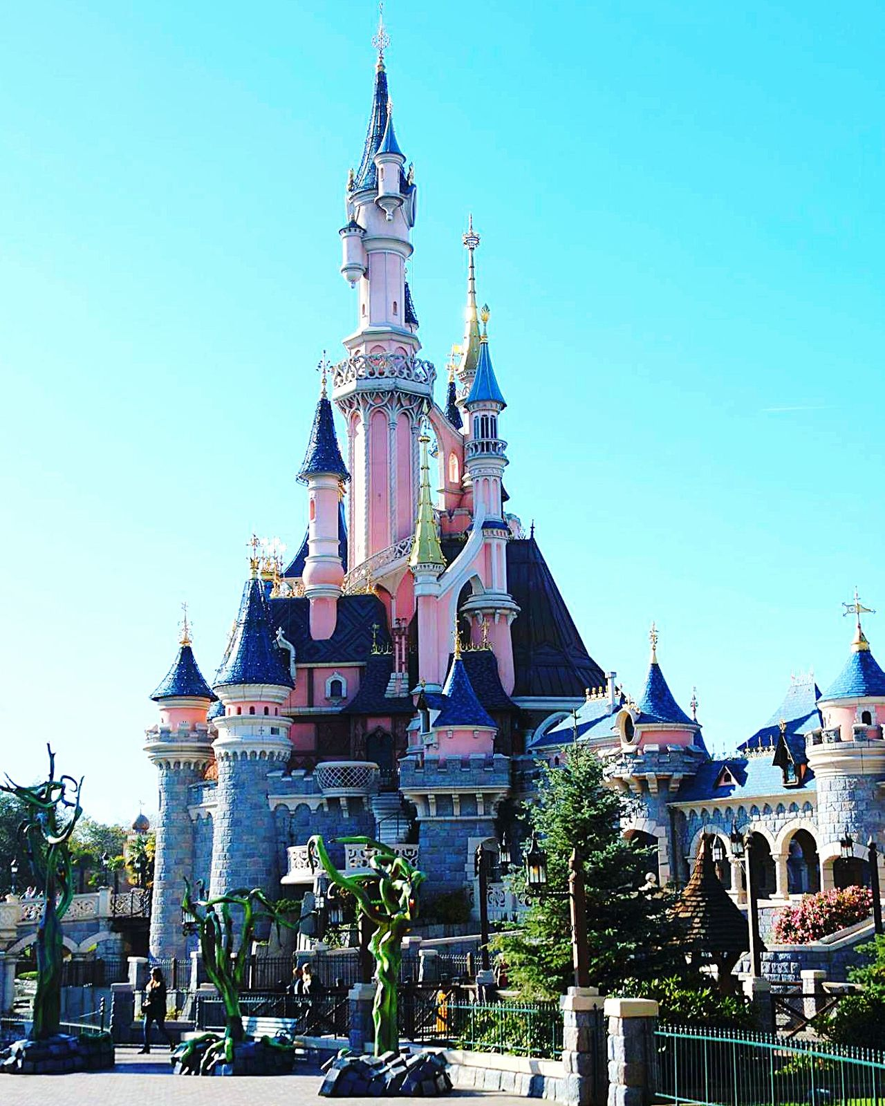 Architecture Travel Destinations Travel Sky Cultures City Vacations Day Outdoors Disneyland Resort Paris Disney Disneyland Disneyland Paris