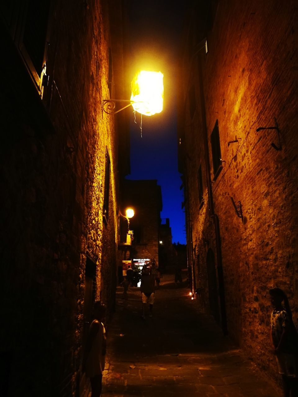 illuminated, night, built structure, architecture, the way forward, building exterior, no people, indoors