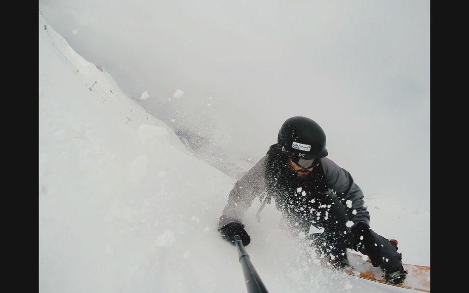Snowboarding Gopro Goproiran Dizin