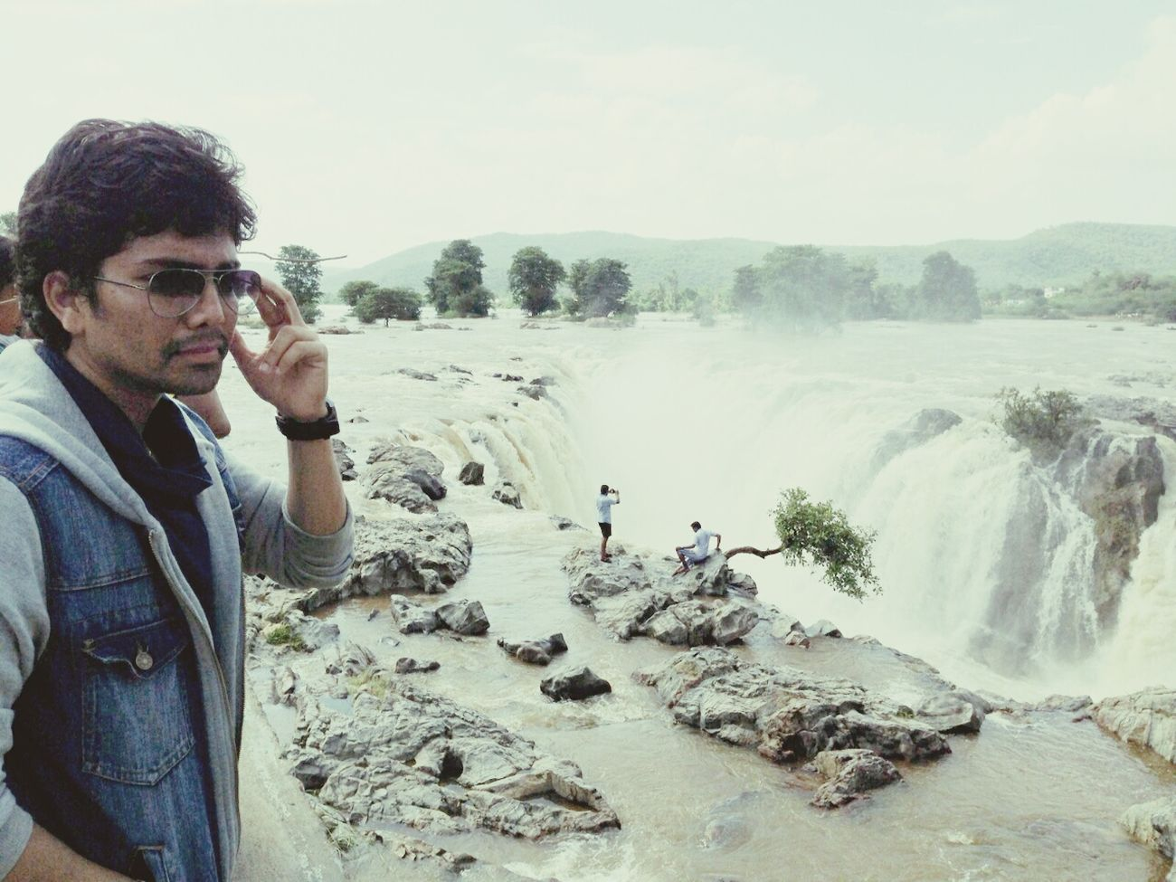 Going The Distance Taking Photos Hanging Out @ huggenekkal water falls, india ..... Saikiran Shekaramantri