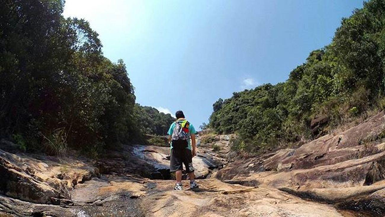 是日caption: 唔係呀嘛?點行呀。。。人行架? 行山 Hiking 大潭 Imadeit