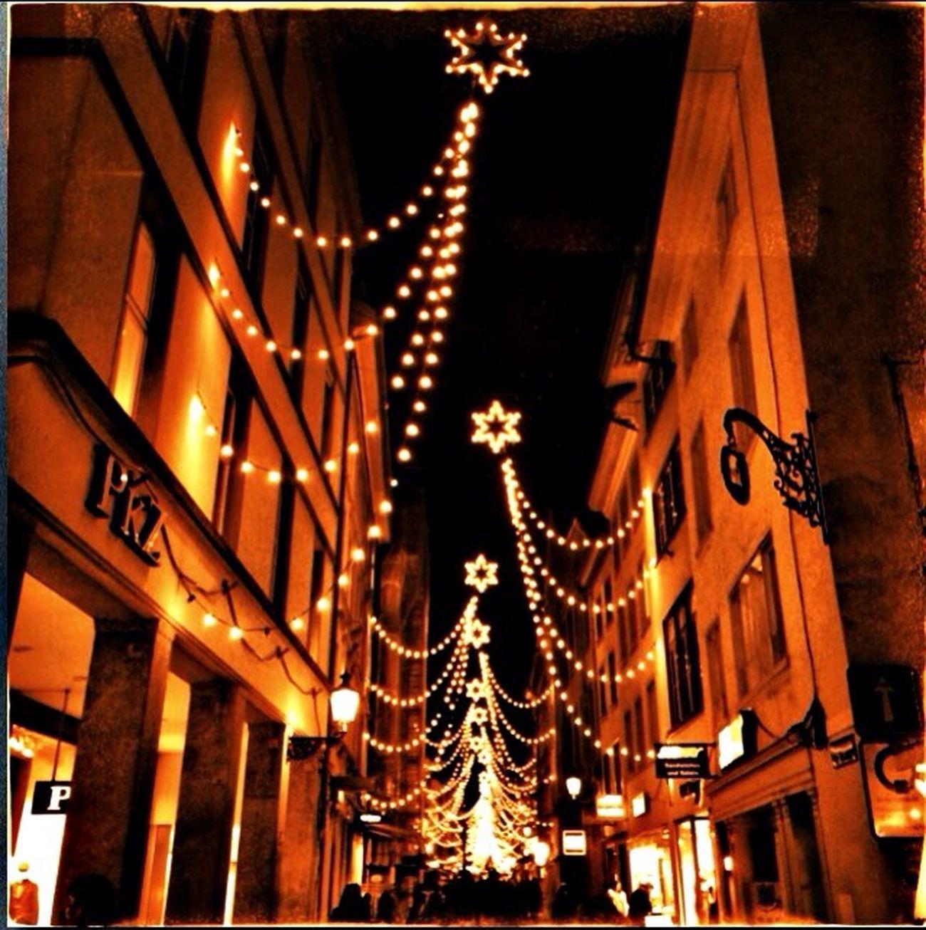 Winterthur Weihnachtsbeleuchtung