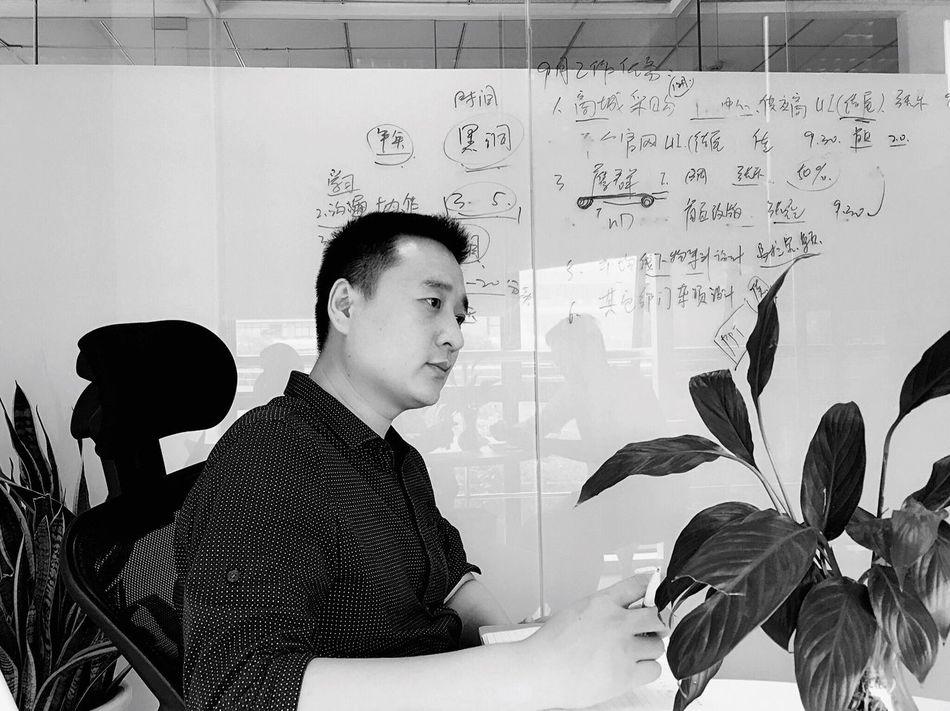My Boss Black & White Meeting