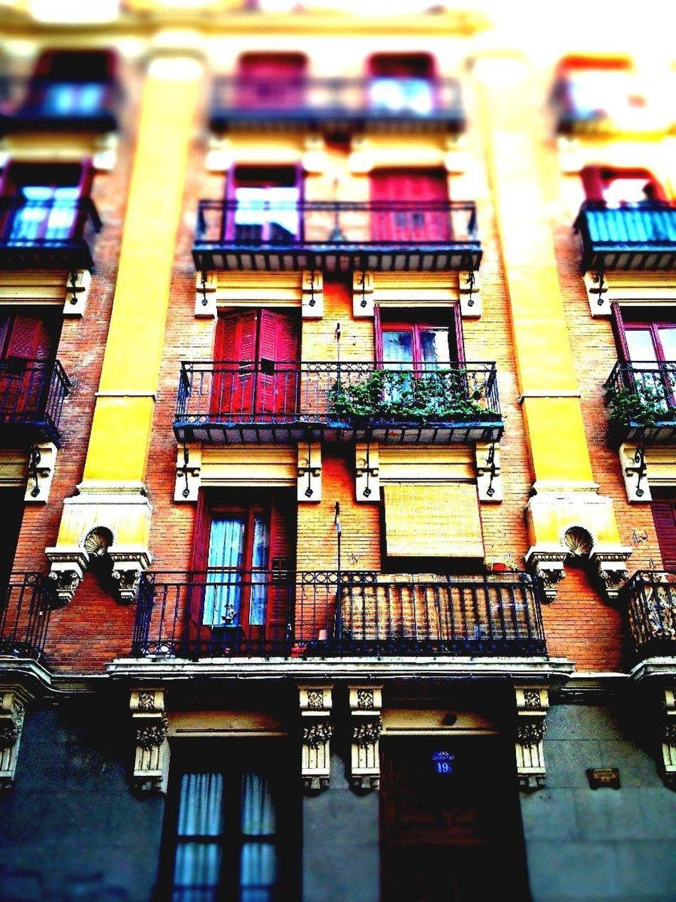 Fachadas De Madrid