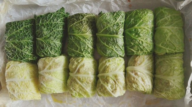 Savoy Cabbage Rolls Salad Very Special Very Tasty No Filter Only Colors Green Helthyfood
