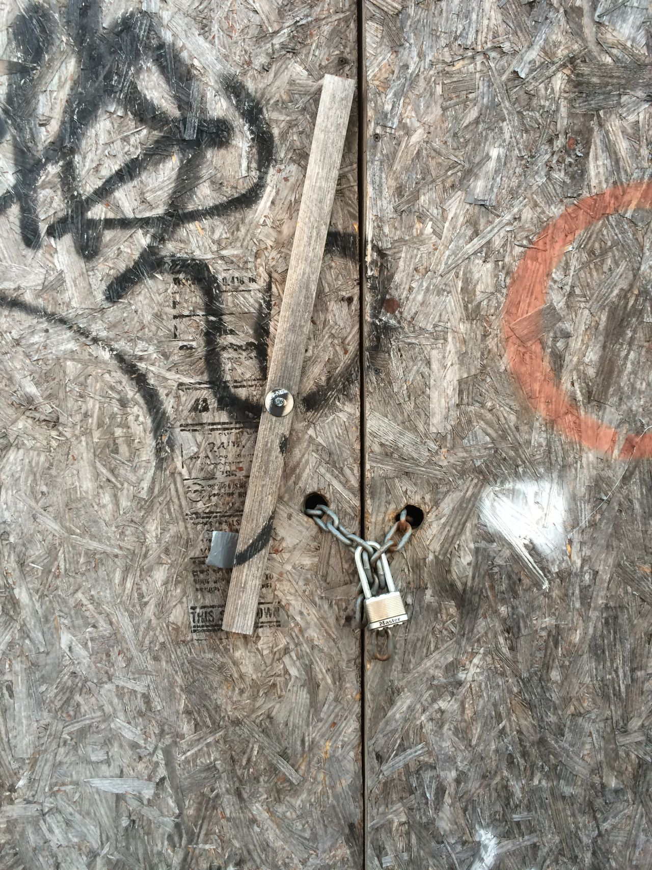 Construction Fence Lock