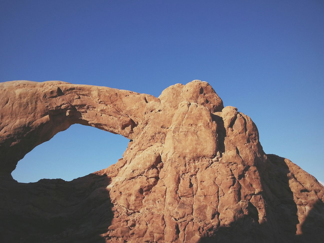 Nature's window. Erosion causes these interesting landforms. RoadTripxUSA Arches Utah