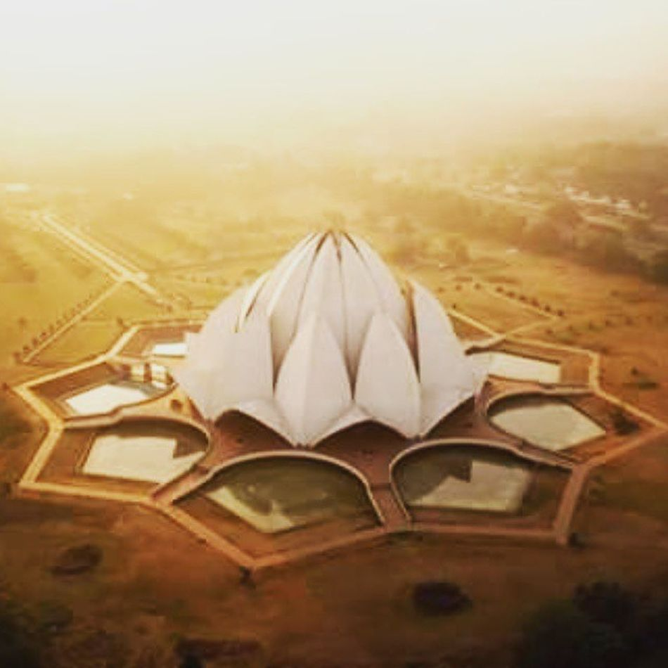 @delhigram Awesome Lotus Temple Likes 100000likes Best  Ariel View Beauty Personified Fabulous DelhiGram