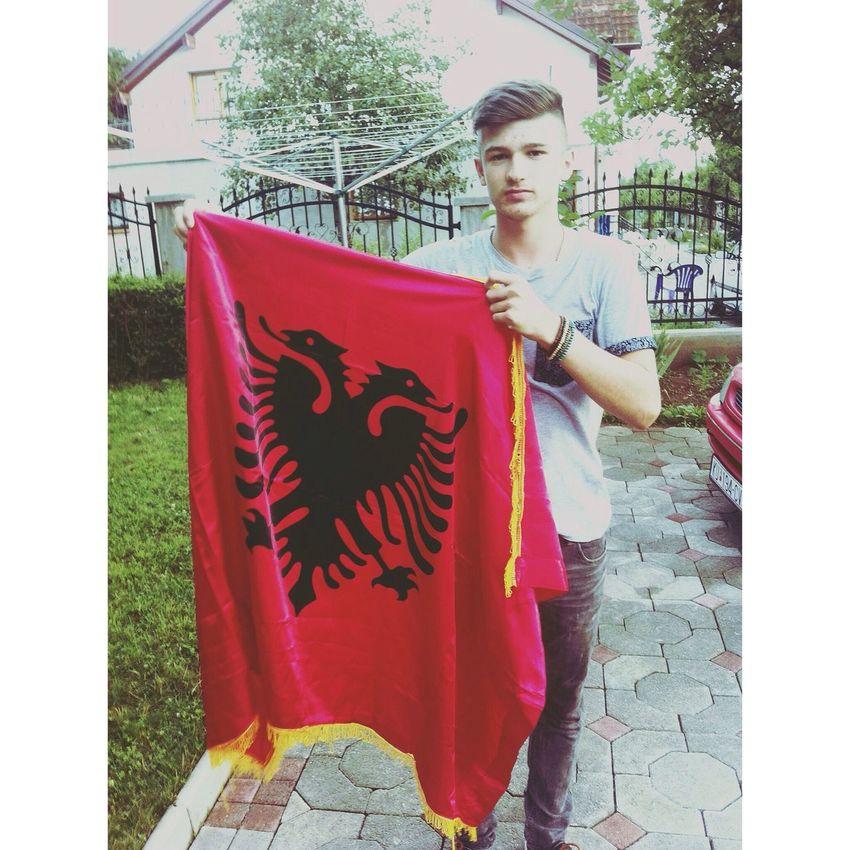 Proud To Be Albanian ! Red&black Taking Photos Enjoying Life
