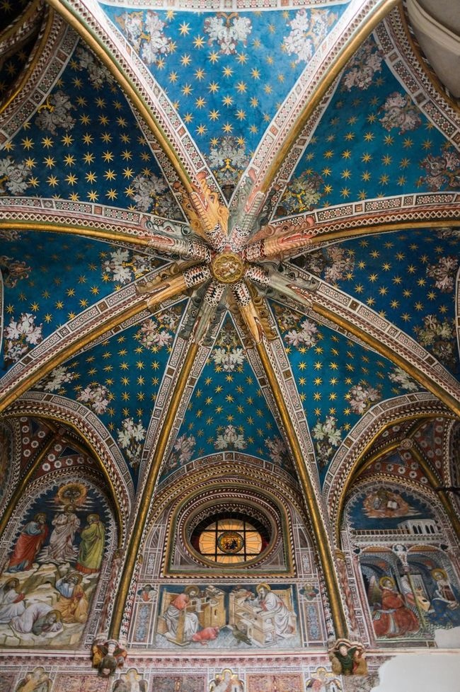 Ceiling Blue Architecture Architecture_collection Lookingup Cathedral Toledo España SPAIN
