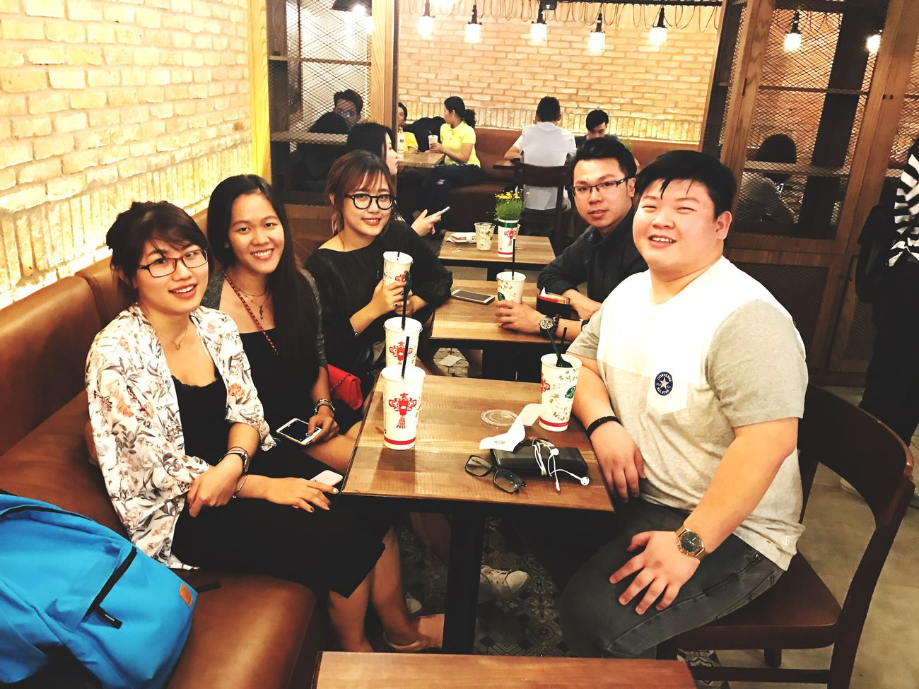 Lunar new year reunion with my friends and housemates in the UK Tetholiday Vietnamesenewyear Lunarnewyear Hanging Out Friendship Happiness Young Adult Smiling Joy