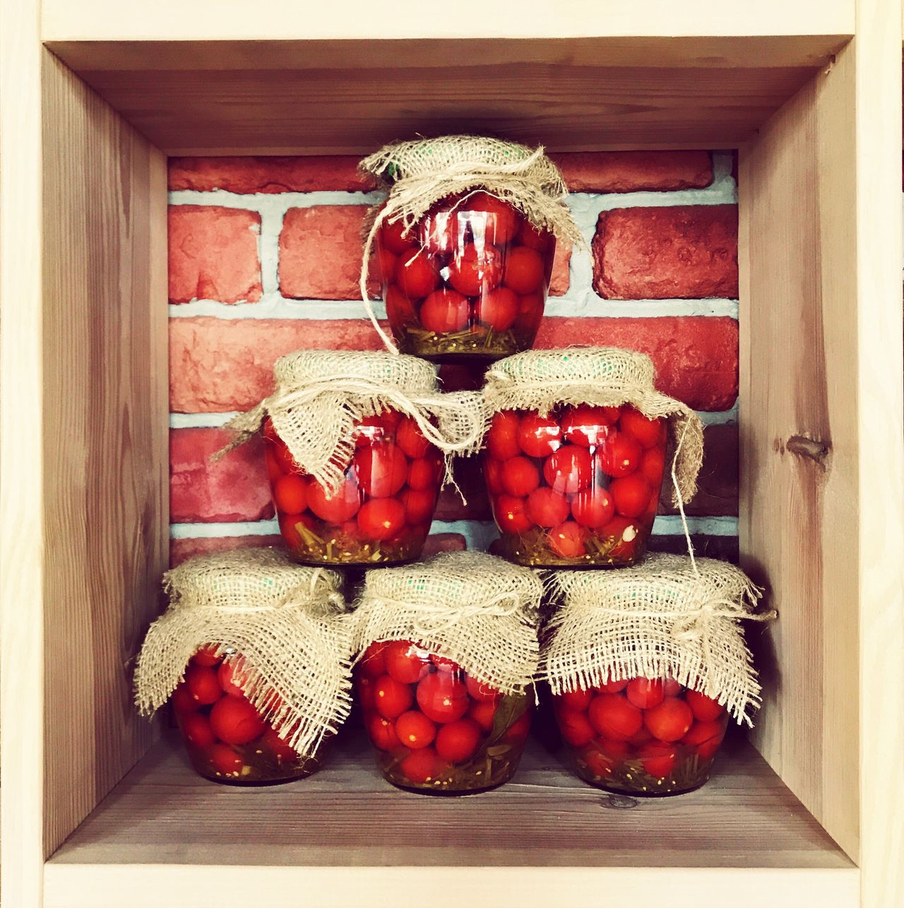 No People Indoors  Home Interior Tradition Red Close-up Food Jars  Tomato Tomatoes Vegetables Decoration Country Life Country Country Style