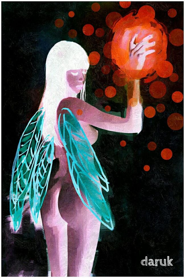 Bold And Beautiful My Artwork Bunch Of Magical Thoughts My Art, My Soul... Fairylights