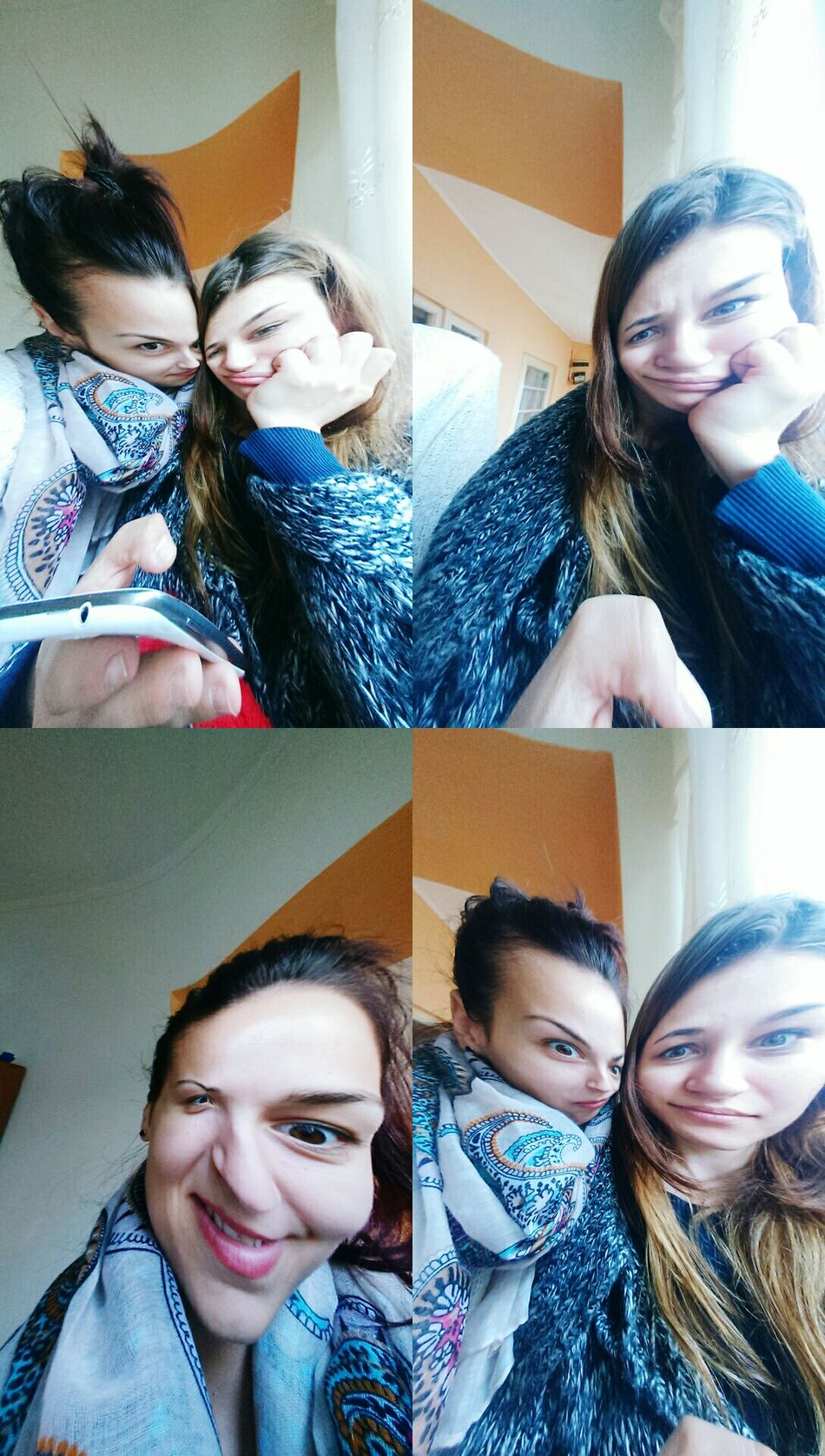 My Bff <3 Distortion Funny Faces ILoveHer❤