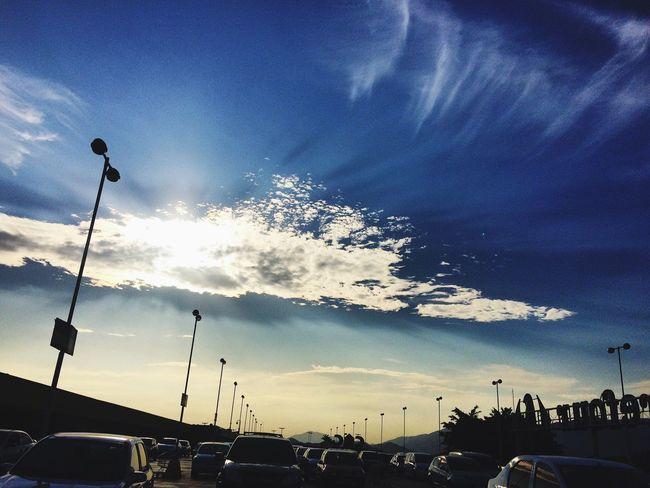 Mais um dia... \o/ Sunset Sky Clouds Brazil