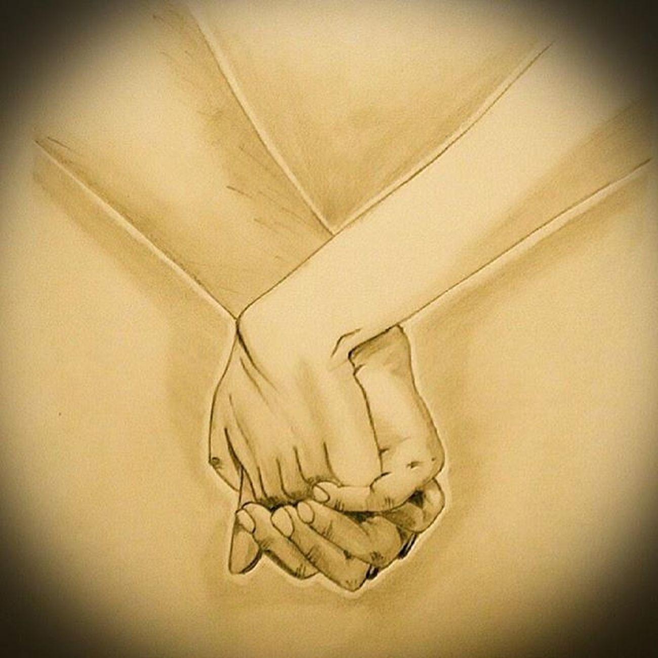 Forsomeonespecial Masterpiece ArtWork Sketchaday Momentofthelife Feelings Capturedmoments Innerpeace No captions needed for this sketch... You have to just feel ur heart and the feelings this sketch portraits :-) Just wanted to day... YOU may hold my hand for a while,.... But YOU hold my HEART forever !! ;);)