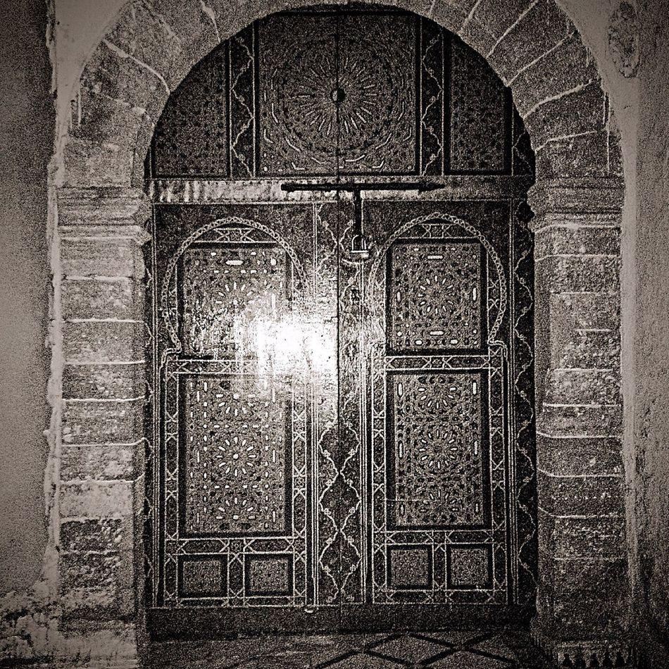Door EyeemMedina Morocco Night
