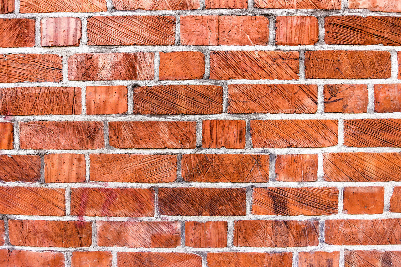 Beautiful stock photos of sicherheit, Backgrounds, Brick Wall, Brown, Close-Up