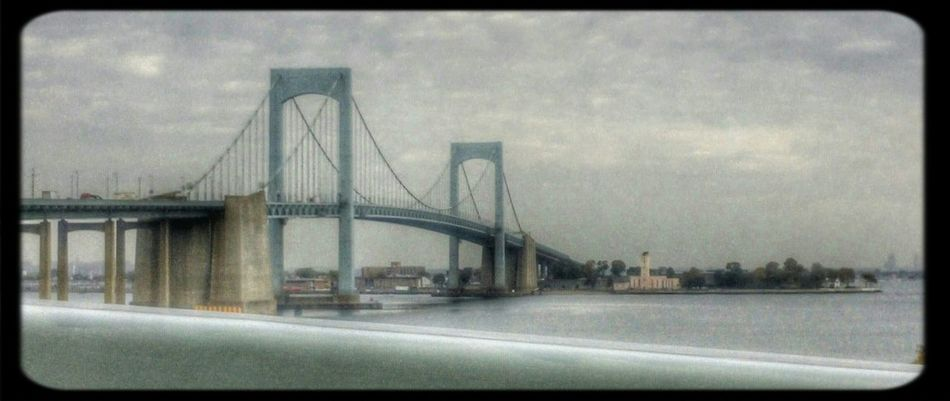 Bridge Bridges Throgsneck