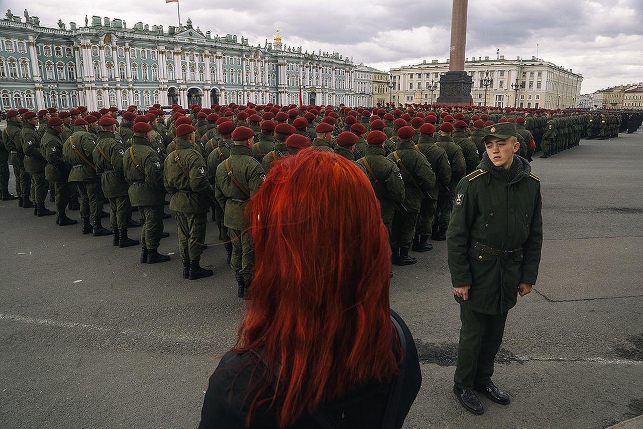 Military Observecollective Redhead Russia Saint Petersburg Street Streetphotography The Street Photographer - 2017 EyeEm Awards