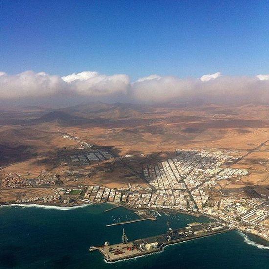Aerial view of Fuertuventura | Spain Travel SPAIN Fuerteventura