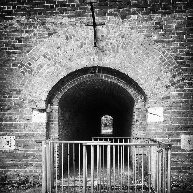 Hilsea Lines Ramparts Tunnel Entrance Ancient Monument Arch Architecture B&w B&W Collection B&w Photo B&w Photography Brick Wall Building Built Structure Day Deterioration Entrance Fortifications Hilsea Lines Hilsea Lines Ramparts No People Old Outdoors Ramparts Tunnel Tunnel View TunnelPorn