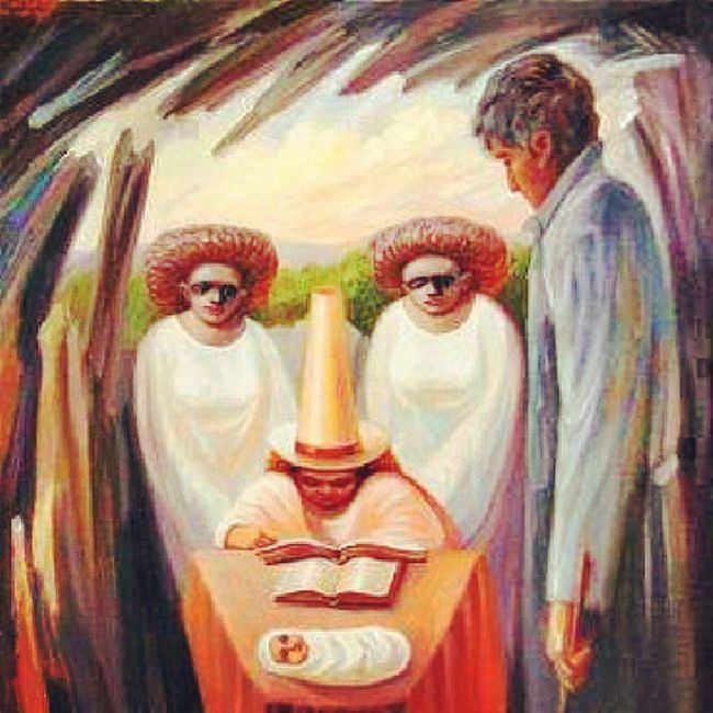 how many faces can you see? Awesomeart