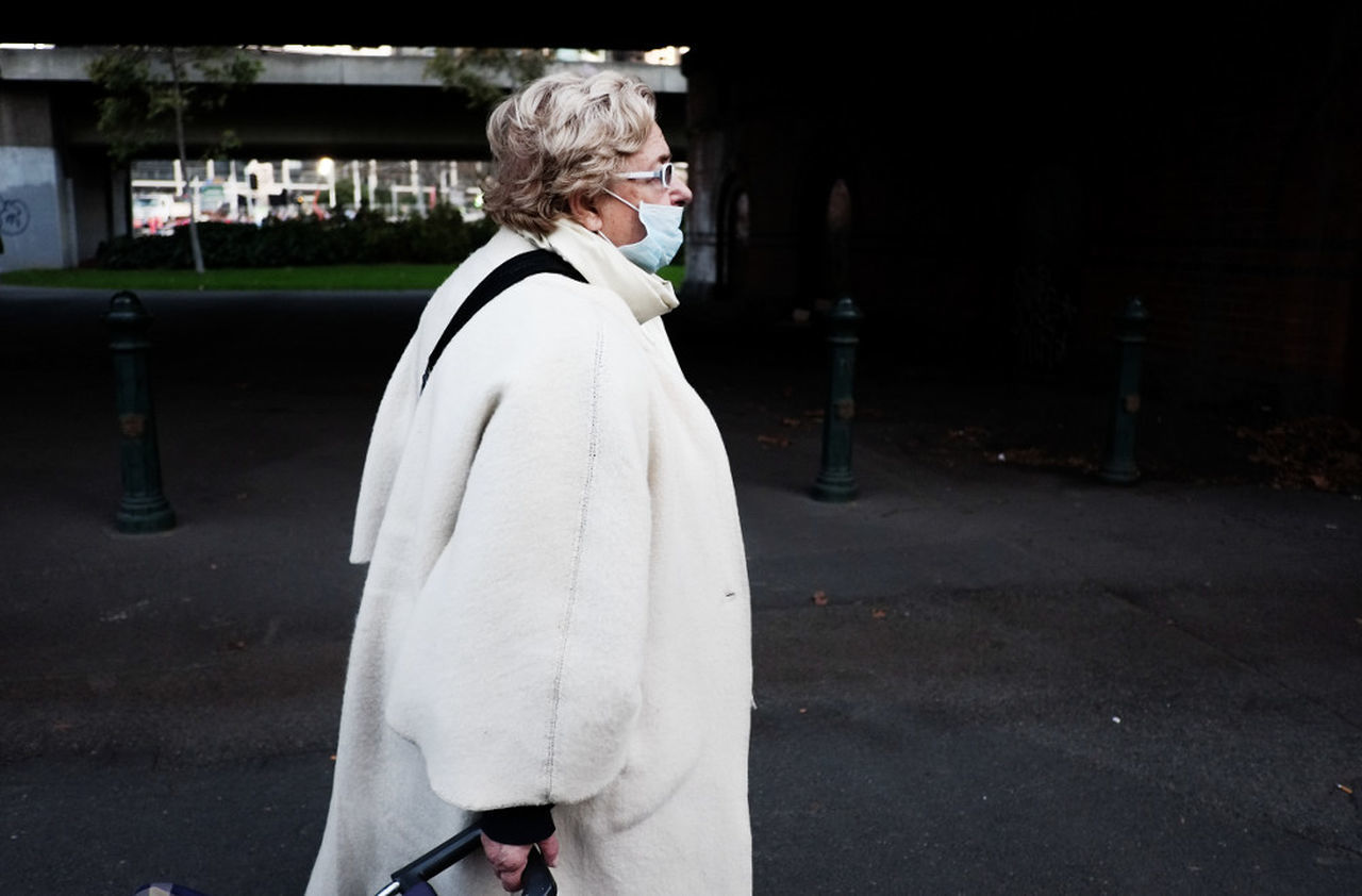 Streetphotography One Senior Woman Only Melbourne Photography Athexphotographs First Eyeem Photo