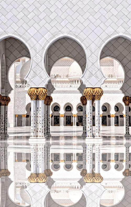 The Architect - 2016 EyeEm Awards Abudhabi Urban Geometry Mosque Reflection Grandmosque Emirates Architecture