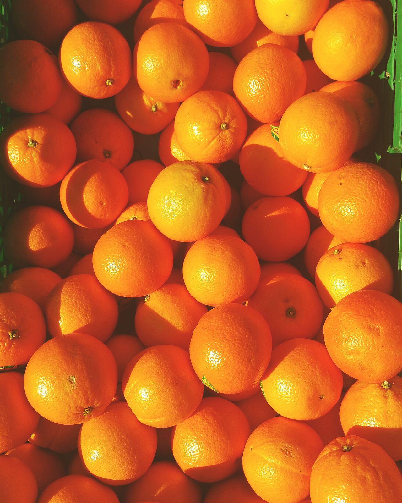 Oranges Food Ingredients Crate Of Oranges Orange - Fruit Orange Color Oranges In The Sun
