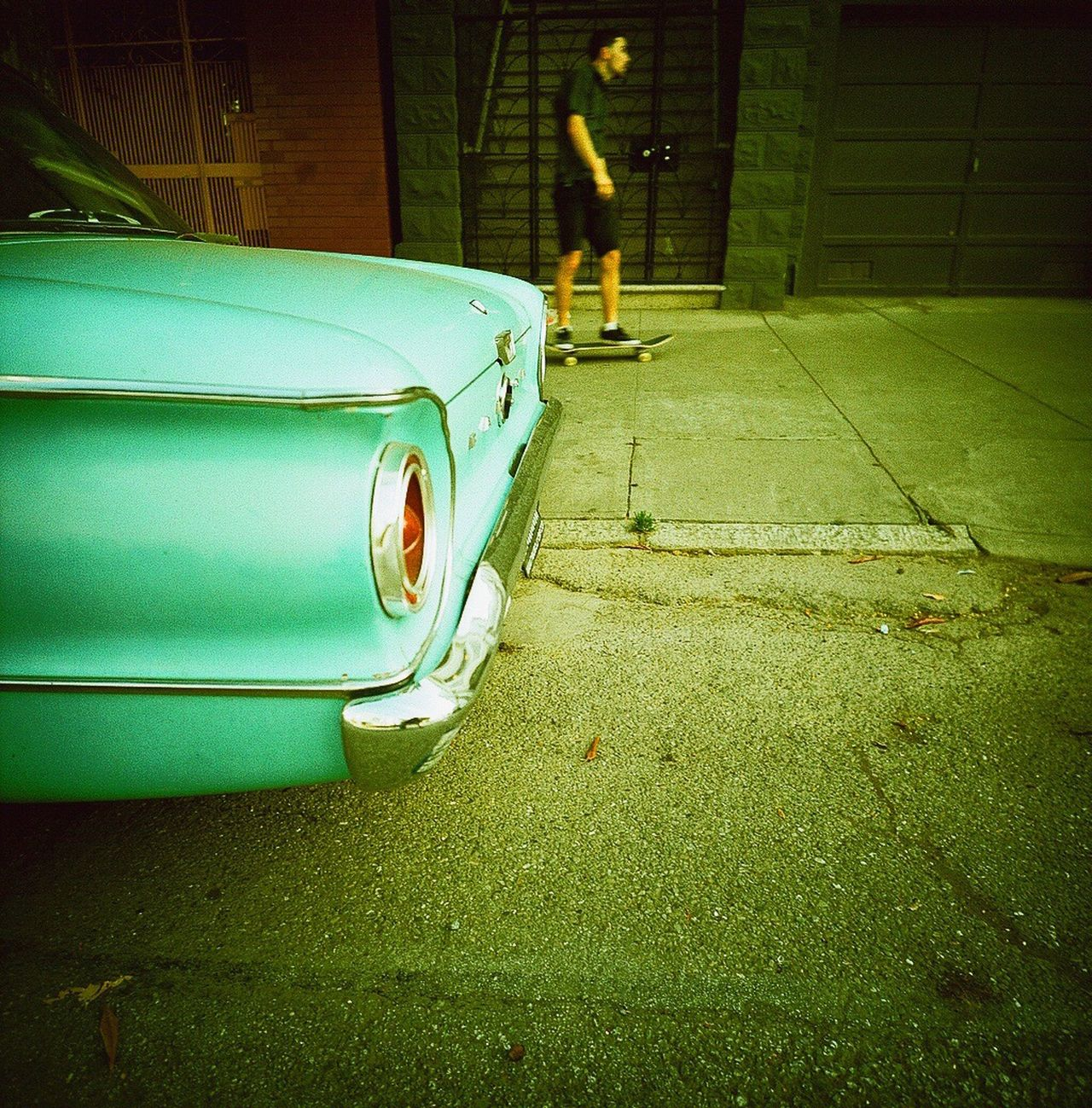 Car Koduckgirl Parked Film Land Vehicle Mode Of Transport Film Photography Classic Car Outdoors Close-up Koduckgirl