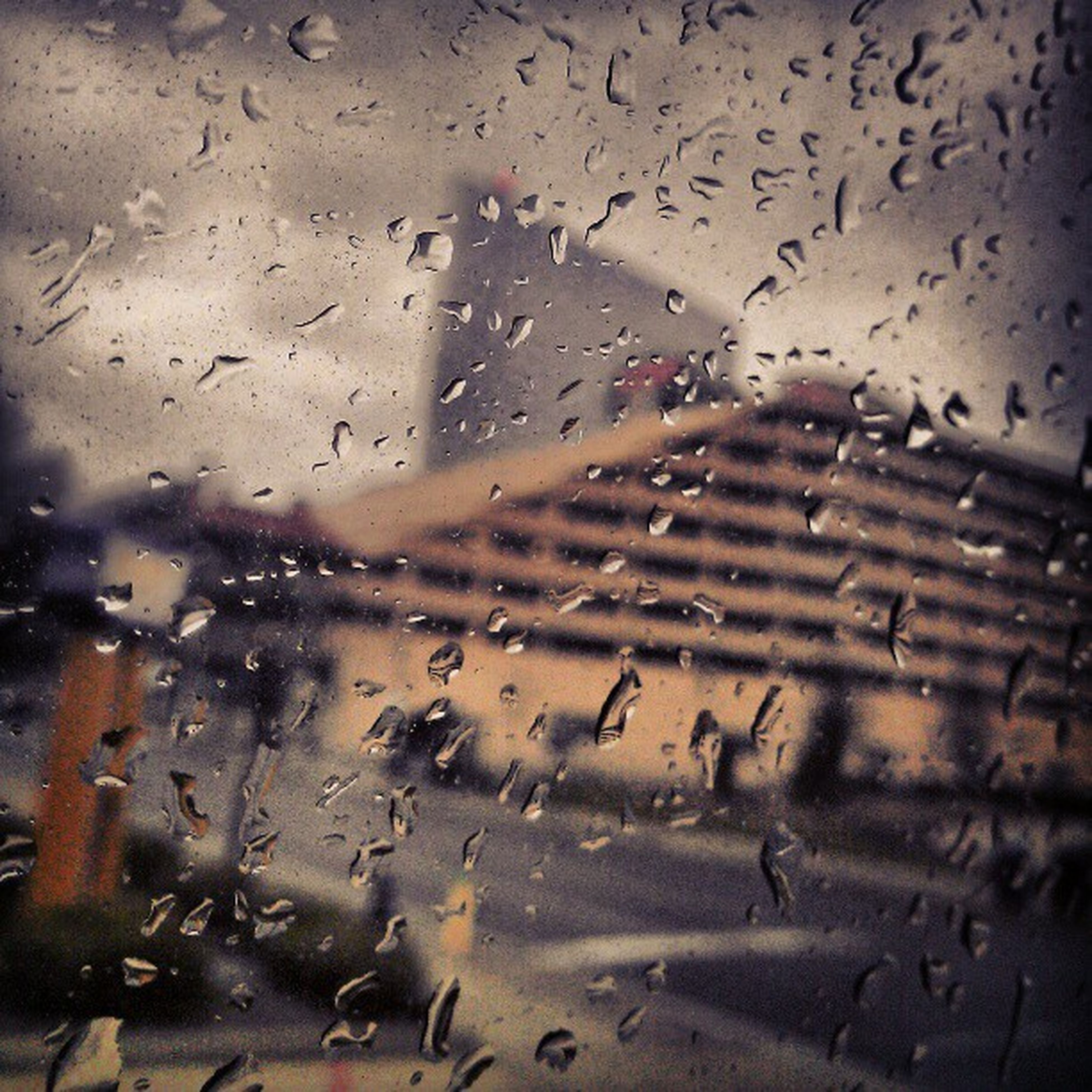 drop, wet, water, window, rain, transparent, indoors, glass - material, weather, season, raindrop, full frame, backgrounds, sky, glass, flying, no people, focus on foreground, nature