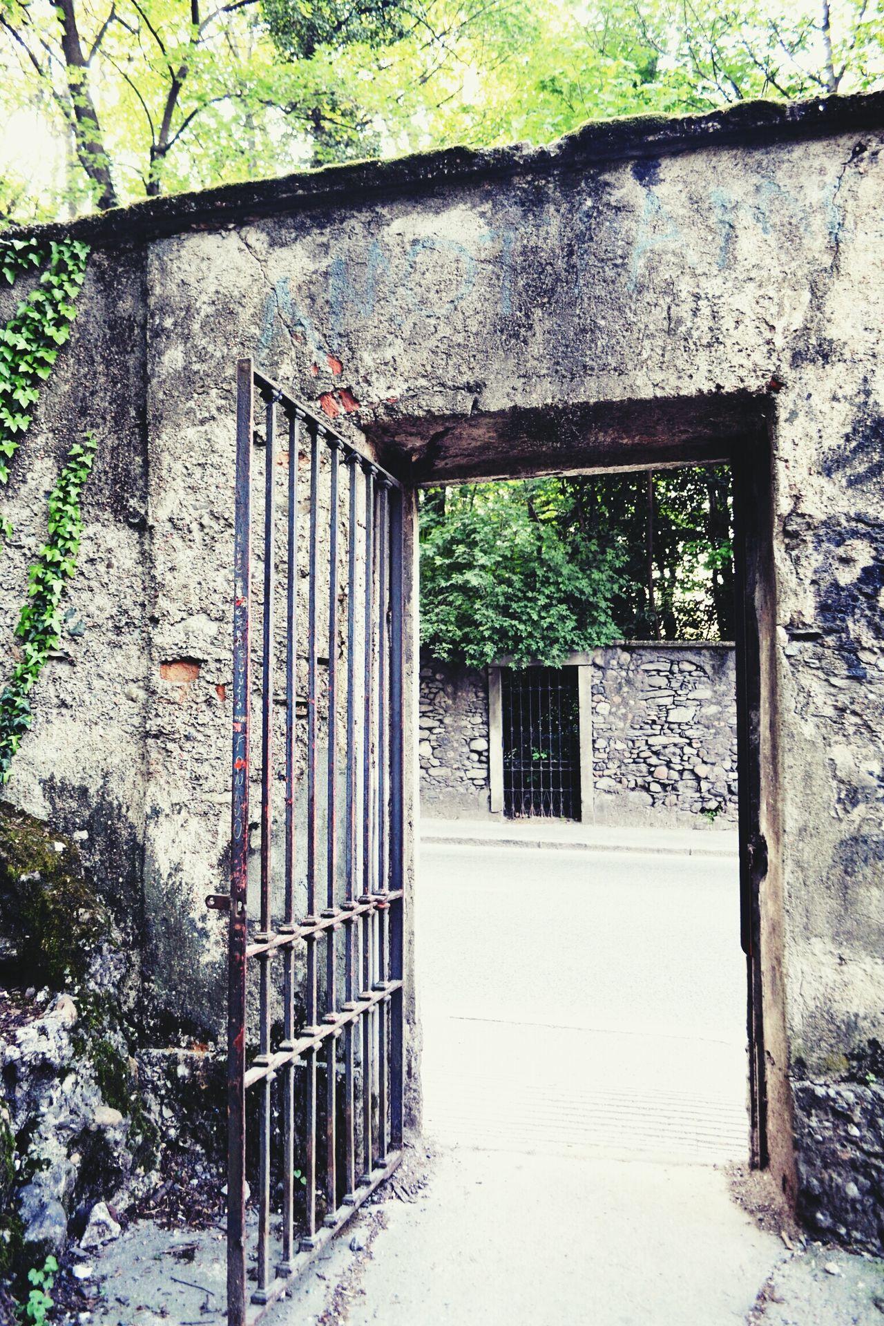 Architecture Door Go Away