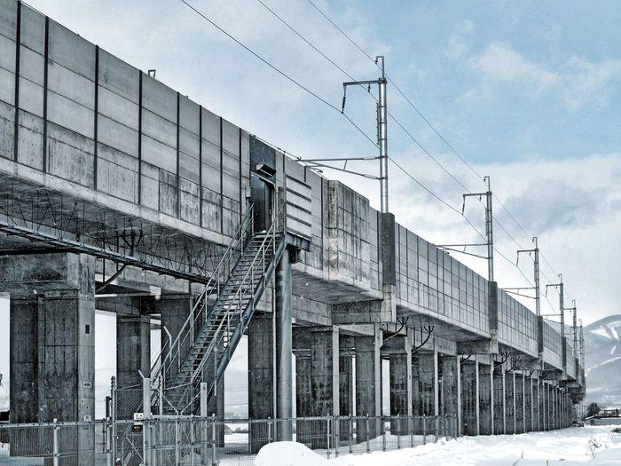Japan Hokkaido 北海道 北海道新幹線 高架橋