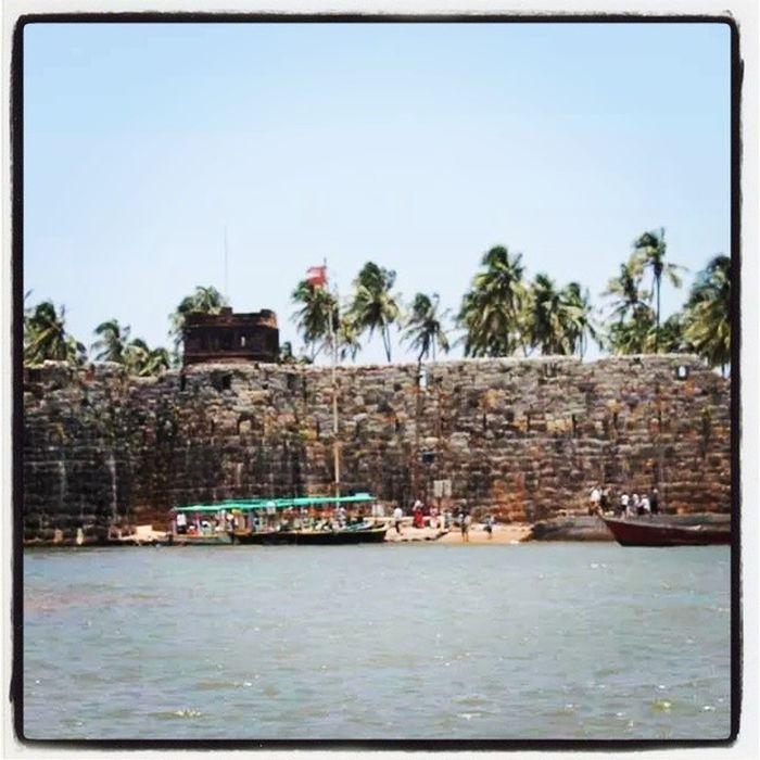 Shivaji Maharaj Malvan Fort Water Maharashtra Konkan