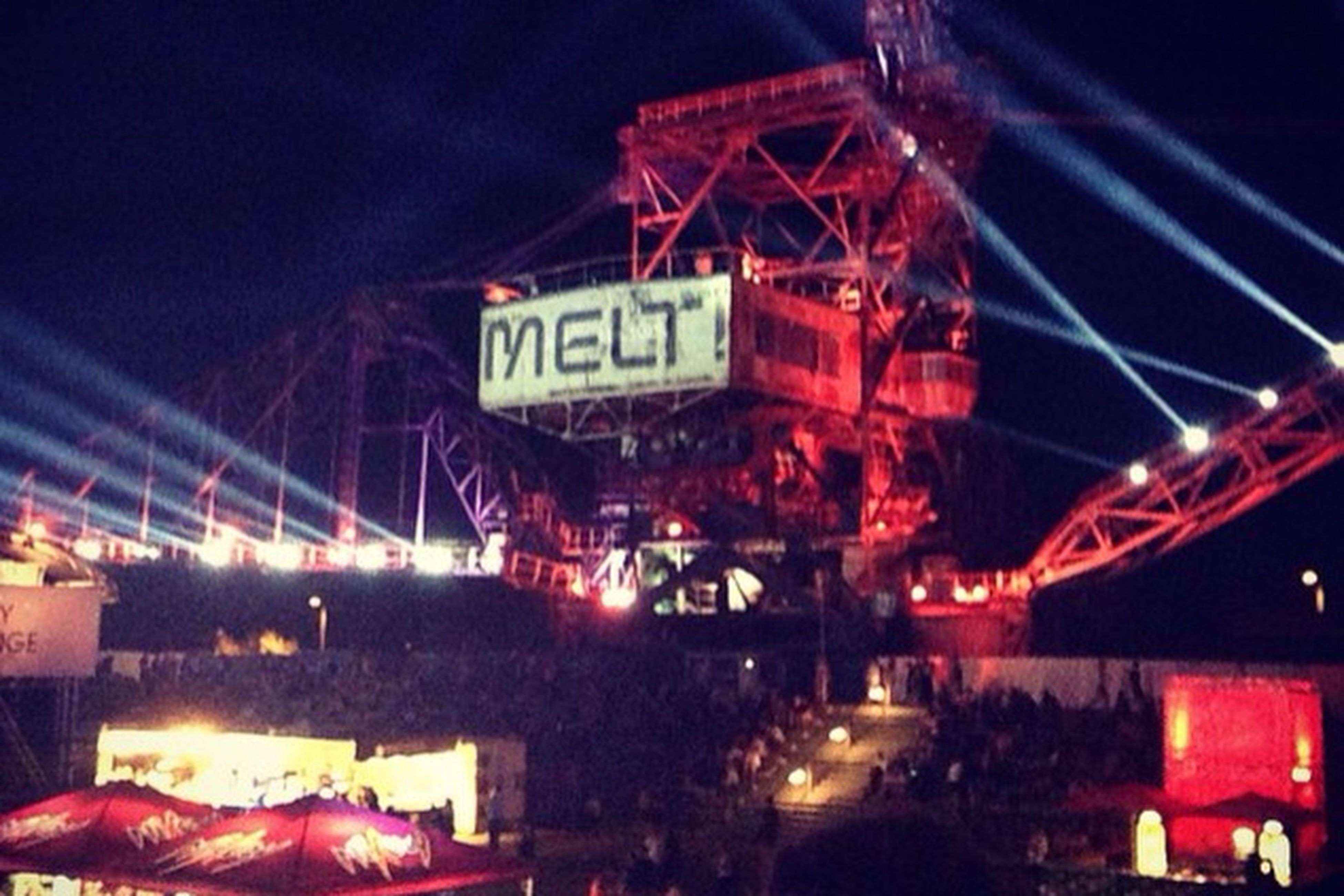 This past weekend at MELT!
