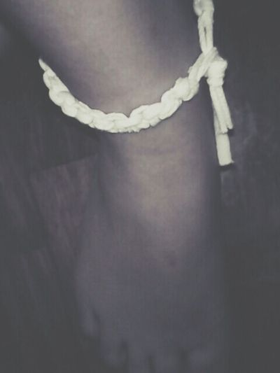 Made my own anklet. Anklet