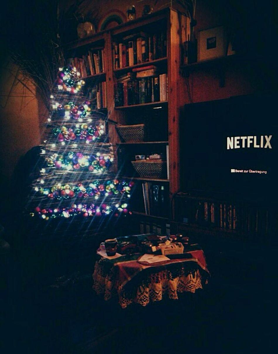 Christmas Illuminated Christmas Tree Christmas Decoration Light Netflix