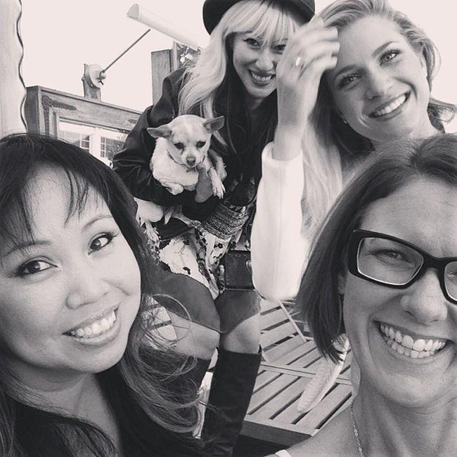 Girls After the @VenusLegacy @VenusConcept Event @SLSHotel in Beverlyhills at the SLSHotelPool