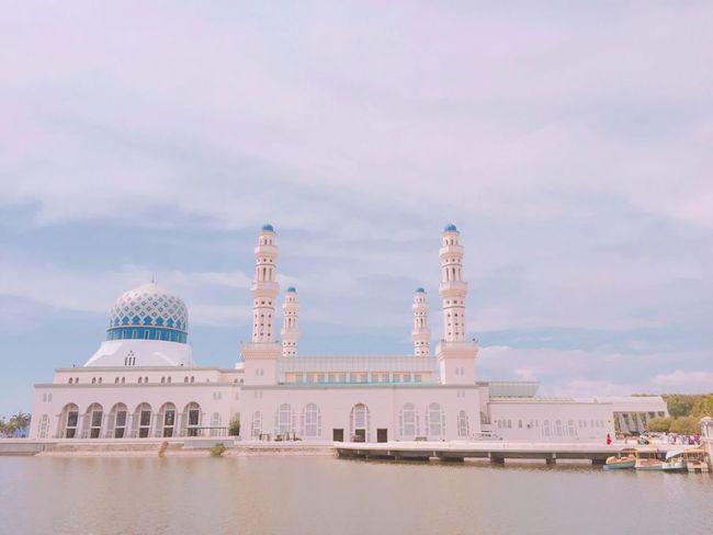 사바주청사 이슬람사원 Sabah Mosque