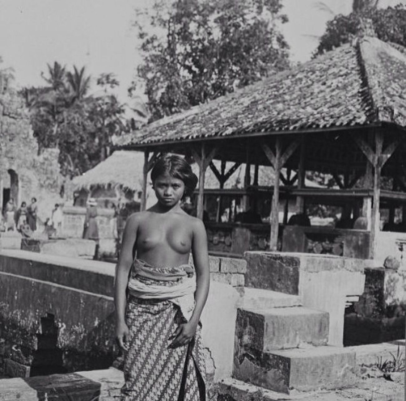 Kesiman royal palace 1930 Hello World Bali